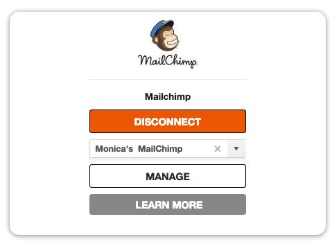 MailChimp Card